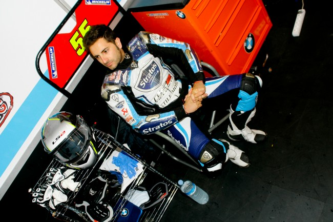 Gran debut de Héctor Faubel con la BMW S1000RR HP4 del Stratos Racing Team
