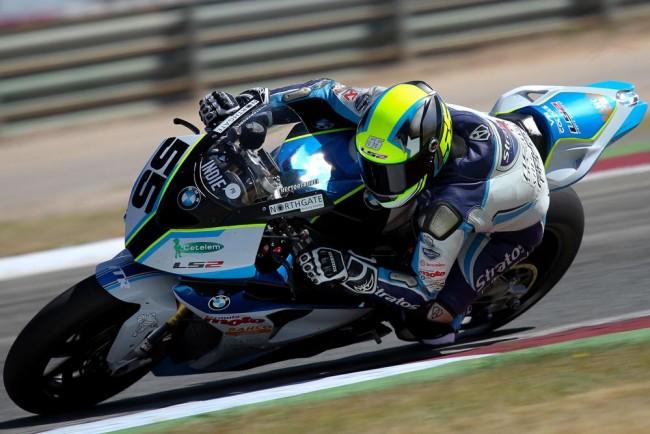 Gran carrera de Héctor Faubel en Albacete que termina sin recompensa
