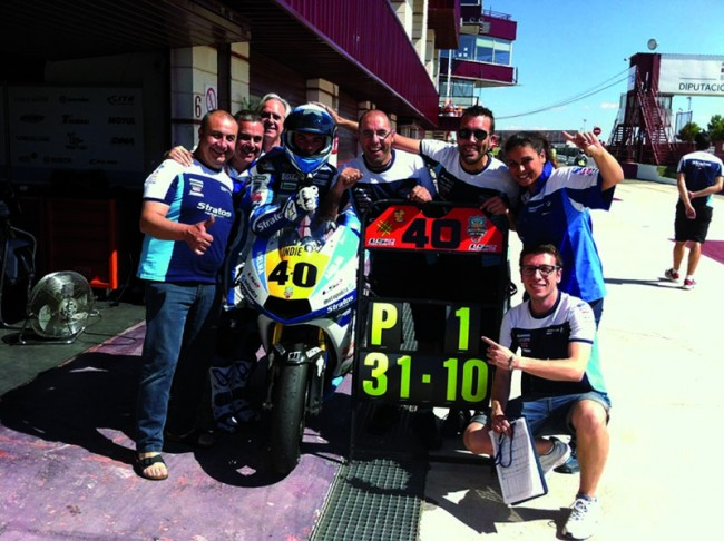 Pole position para Ramos, Team Stratos y Ariane Racing en Albacete