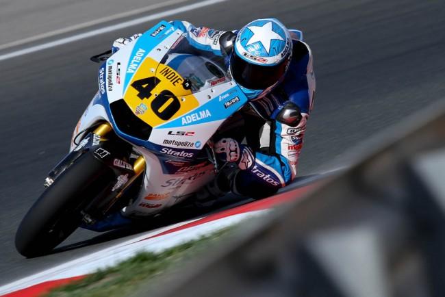 Román Ramos, líder del CEV en Moto2, se anota la pole en el Circuito de Navarra