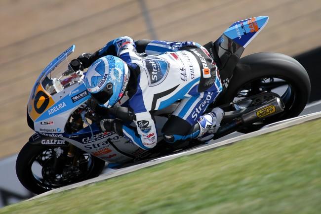 Team Stratos y Román Ramos buscan el asalto al título de Moto2 en Valencia