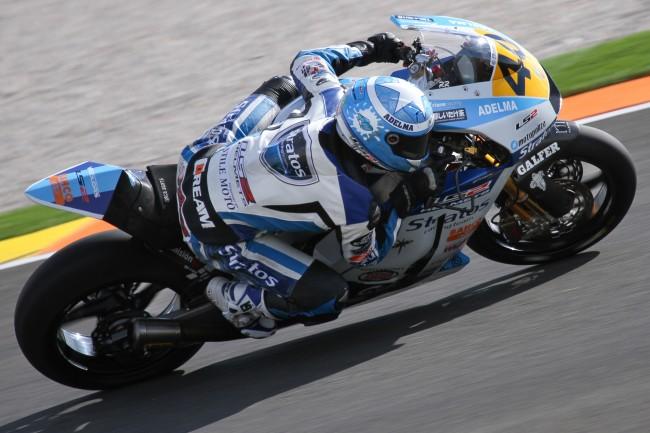 Román Ramos y Team Stratos lucharán por el campeonato desde la primera línea en Moto2
