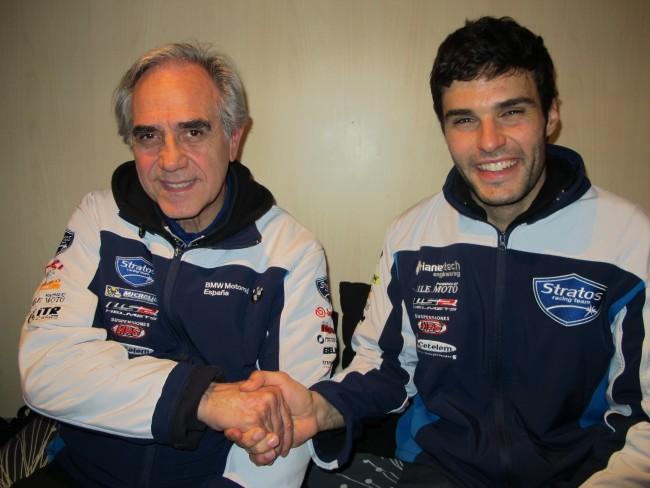 Russell Gómez, piloto oficial Team Stratos – ArianeRacing Moto2 en el FIM CEV 2014