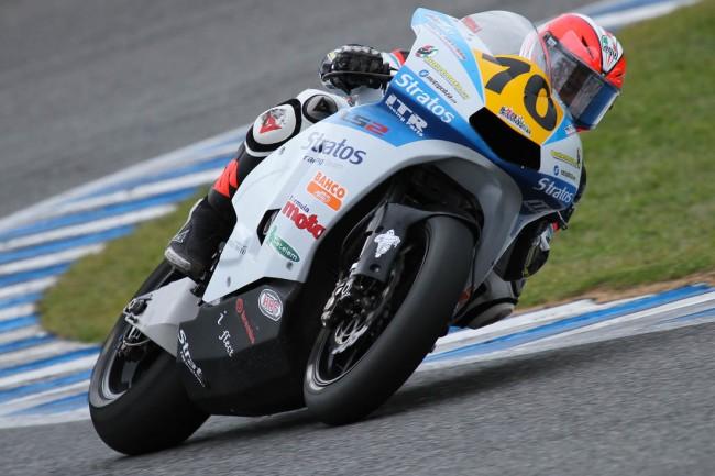 Luca Vitali se une a las filas del Team Stratos en el FIM CEV Repsol de Moto2 con Ariane