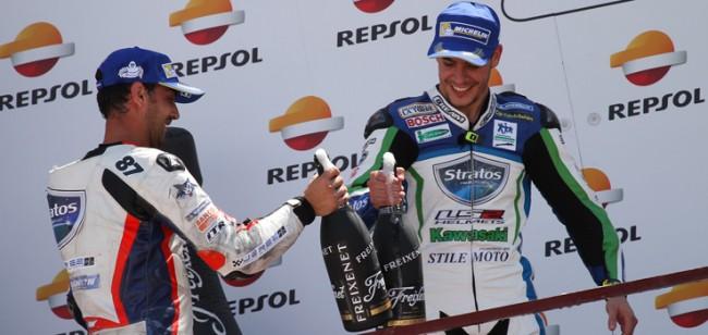 Tres podios más para Kawasaki de la mano del Team Stratos en Albacete