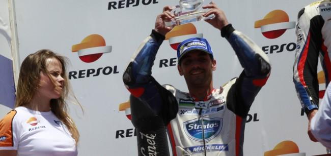Raúl García y el Team Stratos competirán junto a Kawasaki y LS2 hasta final de temporada