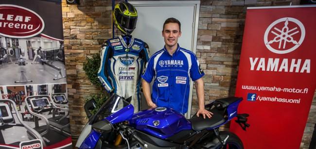 Niko Mäkinen será piloto Stratos Yamaha en el FIM CEV Campeonato de Europa de Superbike