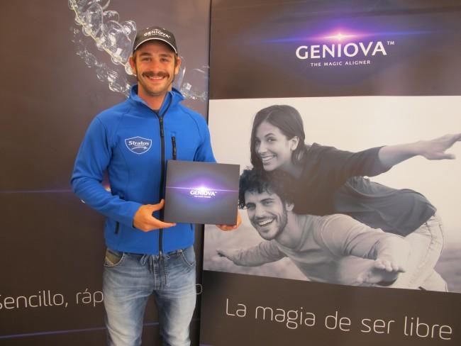 Geniova, empresa innovadora de tecnología dental, se une al Team Stratos en el FIM CEV Campeonato de Europa de Velocidad
