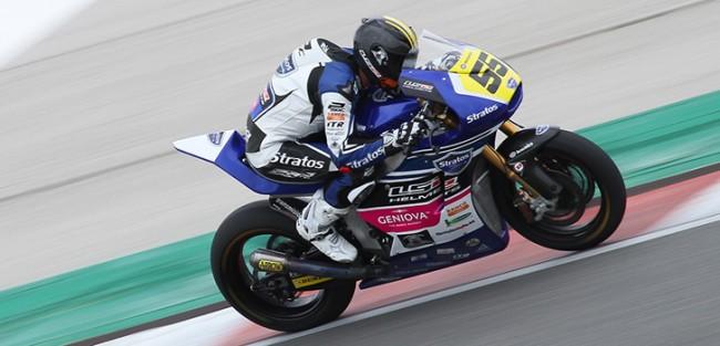 Buen comienzo para los pilotos de Stratos en la categoría de Moto2 del FIM CEV Repsol