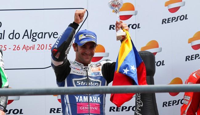 Espectacular estreno con doble podio de Yamaha, Pietri y Team Stratos en Portugal