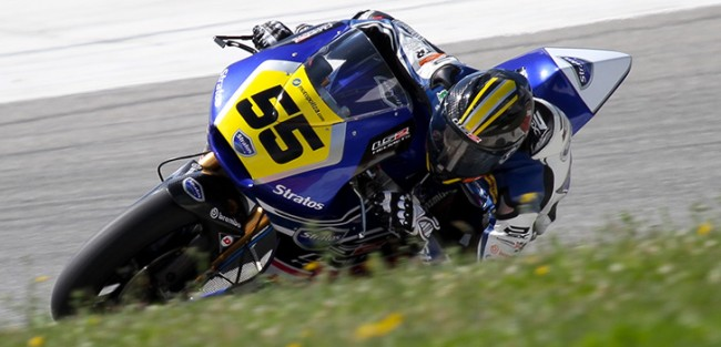 El Team Stratos comienza la temporada entre los mejores de Moto2