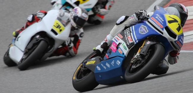 Maxi Scheib y el Team Stratos juntos en Moto2