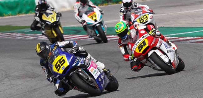 Los pilotos del Team Stratos en Moto2 afrontan carrera doble en MotorLand