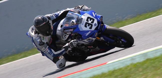 Niko Mäkinen consigue sus primeros puntos con la Yamaha del Team Stratos