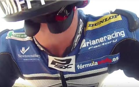 Nikki Coates Moto2 Motorland FIMCEV 2015 ARIANE2
