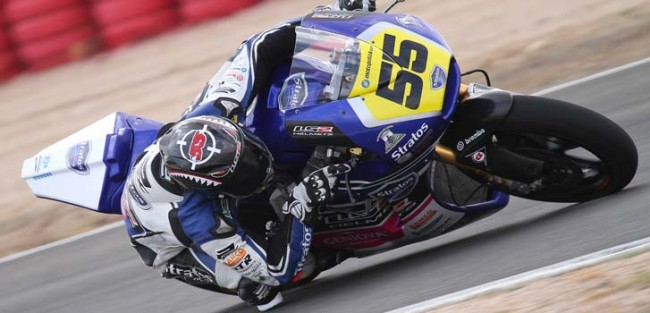 El Team Stratos Moto2 buscará dar un nuevo paso adelante en Navarra