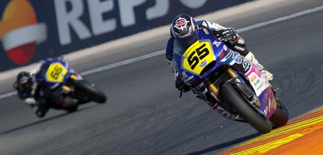 Los pilotos Stratos Moto2, preparados para la última carrera del año