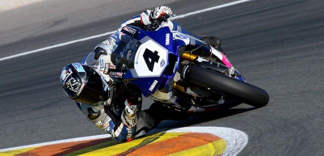Pole para Robertino Pietri y el Team Stratos Yamaha en Valencia