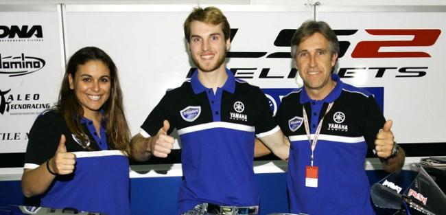 Guillermo Llano se une al Team Yamaha Stratos en el FIM CEV Superbike 2016