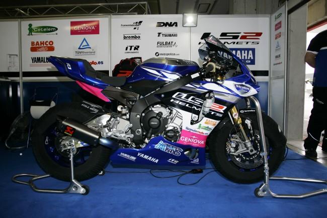 Team Stratos renueva con Yamaha en el FIMCEV Superbike 2016