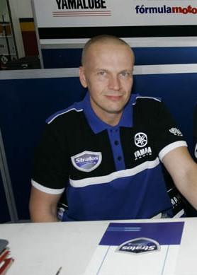 Niko Mäkinen y Mika Höglund, pilotos Yamaha Stratos Superbike 2016