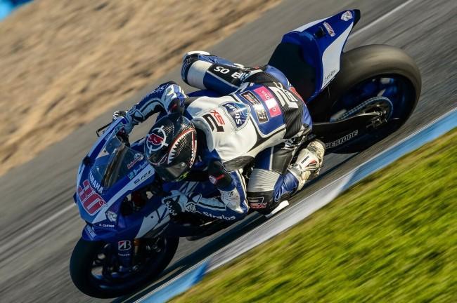 Alejandro Medina pilotará la Yamaha R1M del Team Stratos en el FIM CEV de Superbike