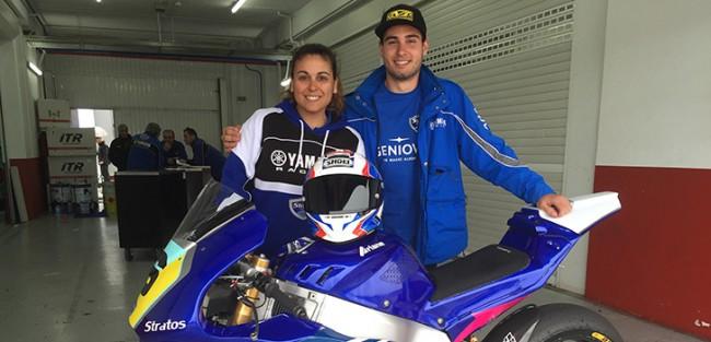 Michael Aquino joins Team Stratos in the FIM CEV Moto2