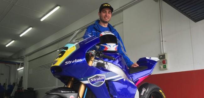 Michael Aquino debutará este fin de semana en el FIM CEV Moto2 European Championship