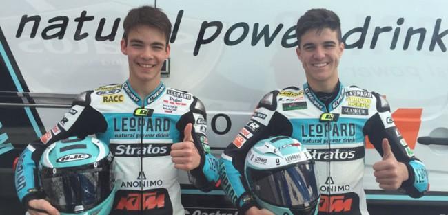 Leopard Stratos Junior Team, preparado para la lucha en Valencia con Riu y Ramírez