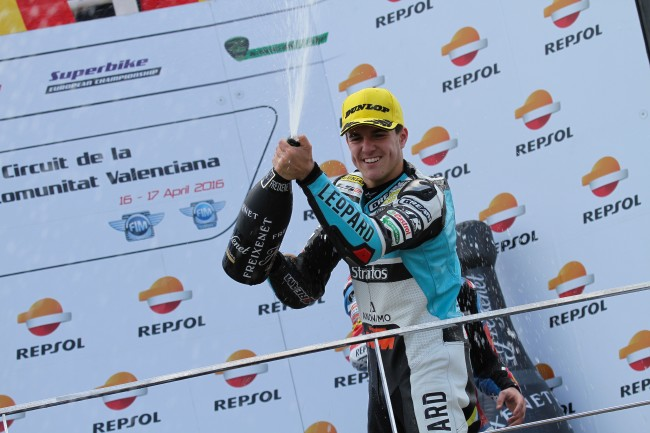 Marcos Ramírez le da una victoria y un segundo puesto al Leopard Junior Stratos en Valencia