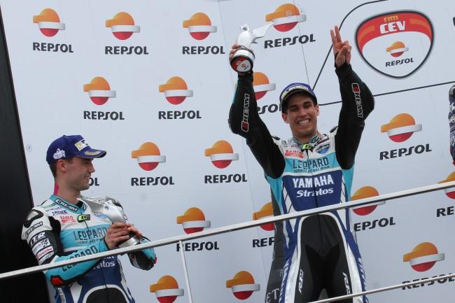 Medina y Mäkinen llevan al Leopard Yamaha Stratos al podio de Valencia