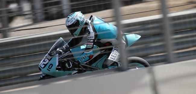 Marcos Ramírez defenderá el liderato en Moto3 con el Leopard Junior Stratos en MotorLand