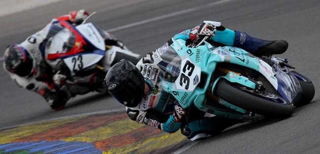 Mäkinen y el Leopard Yamaha Stratos defenderán el liderato de Privados en el FIM CEV Repsol en Superbikes