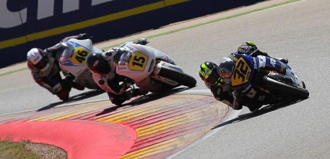 Complicada jornada para los pilotos Stratos en Moto2