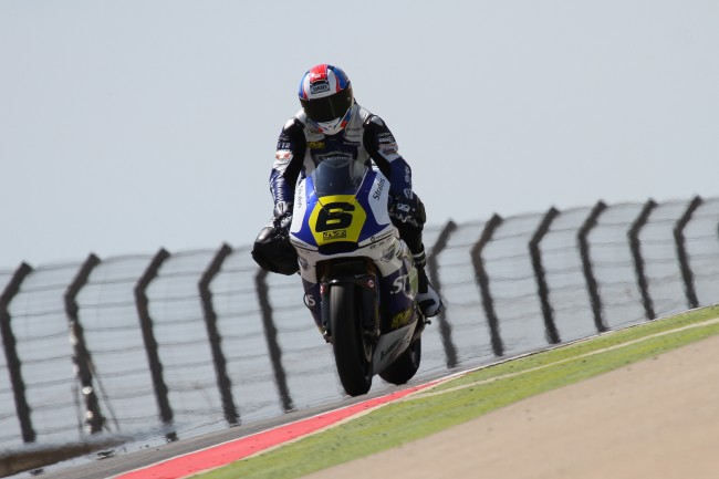 El Team Stratos Moto2 llega al Circuit de Barcelona-Catalunya