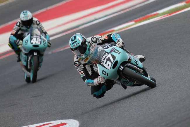 Marcos Ramírez y el Leopard Stratos Junior Team trabajarán para mantenerse en la lucha por el liderato en el Mundial Junior de Moto3