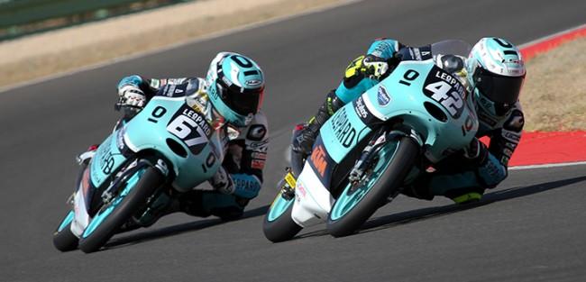 Ramírez y Riu entre los mejores pilotos de Moto3 en Albacete