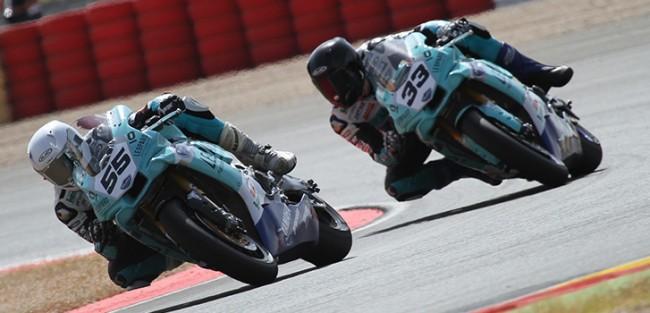 Medina y Mäkinen llevan al Leopard Yamaha Stratos al podio en Albacete