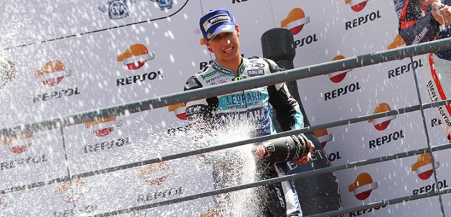 Medina suma dos nuevos podios para el Leopard Yamaha Stratos