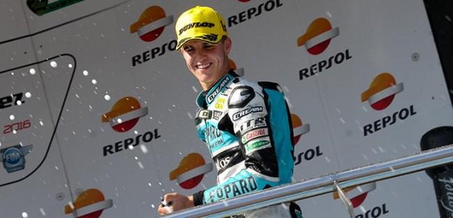 Ramírez y el Leopard Junior Stratos vencen y se aceran al liderato del Moto3 Junior World Championship