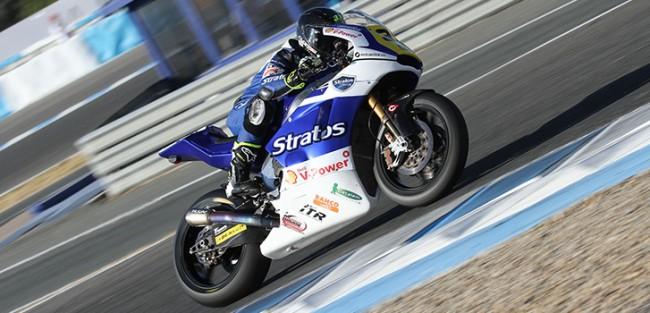 El Circuit de Valencia acoge al Team Stratos en Moto2