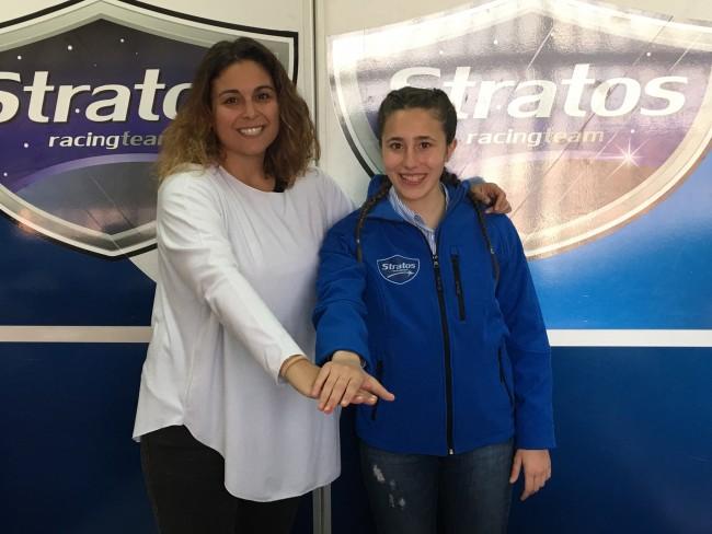 Beatriz Neila, piloto del Team Stratos para la European Talent Cup