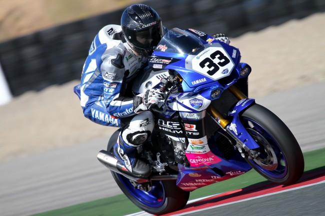 Niko Mäkinen y el Yamaha Stratos, juntos en el RFME Campeonato de España de Velocidad