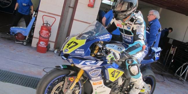 El Team Yamaha Stratos, con la victoria como objetivo en la primera cita del RFME CEV
