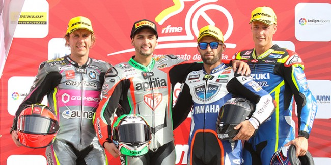 Ángel Rodríguez y el Yamaha Stratos consiguen el primer podio de la temporada