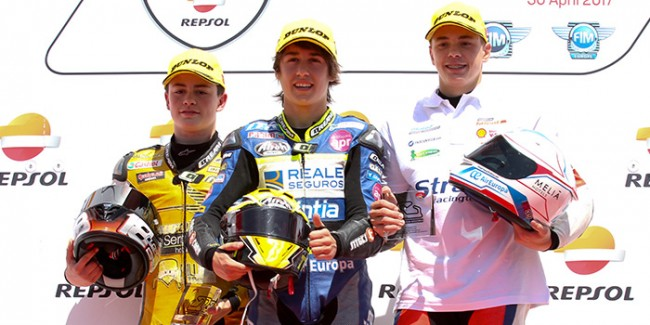 Joan Uviña y el Team Stratos suben al podio de la European Talent Cup
