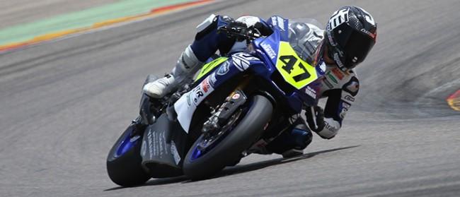 Rodríguez y el Yamaha Stratos encabezan la segunda fila de parrilla en MotorLand Aragón