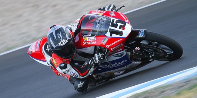Jornada de trabajo intenso para el Team Stratos en el Circuito de Jerez