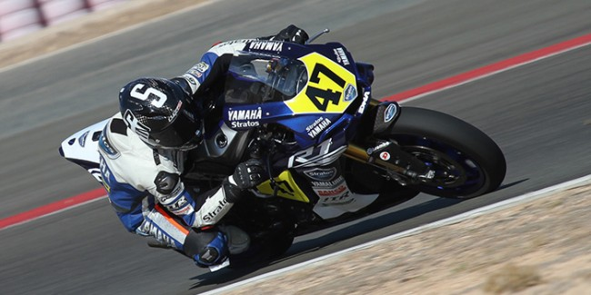Rodríguez y el Yamaha Stratos consiguen una heroica segunda posición en Albacete