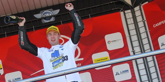 Niko Mäkinen y Yamaha Stratos campeones de España de Open 1000
